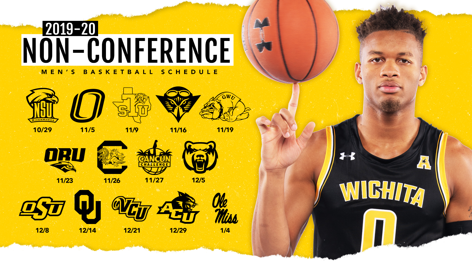 WSU Finalizes Non-Conference Hoops Schedule