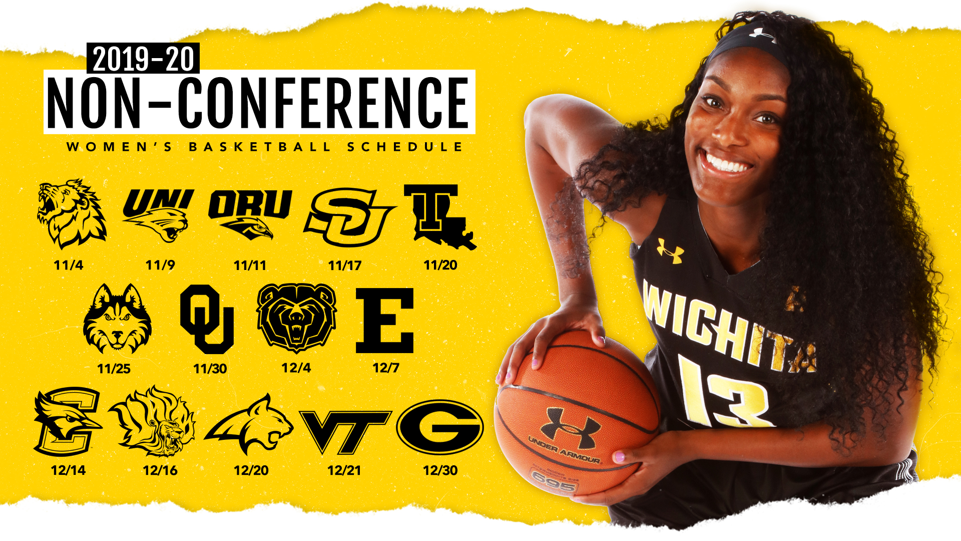 Wichita State Debuts 2019 20 Non Conference Slate Wichita
